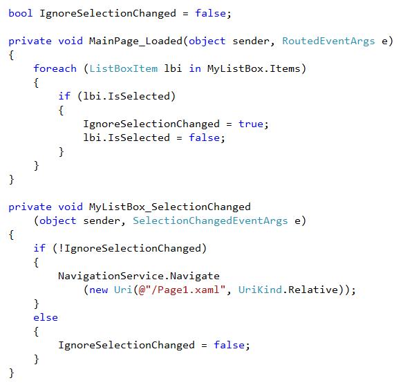The Code Workaround